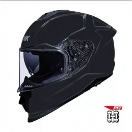 CASCO SMK TITAN MATT BLACK