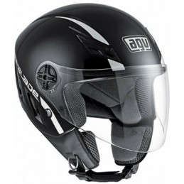 MB S JET AGV SOLID NEGRO